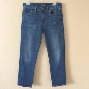 Lucky Brand women's cropped jeans size 8